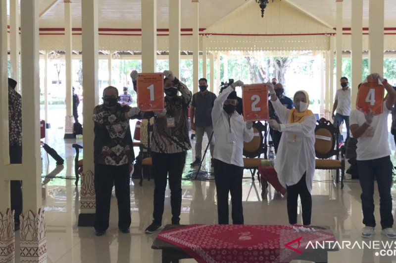 KPU Gunung Kidul distribusikan logistik APD ke TPS