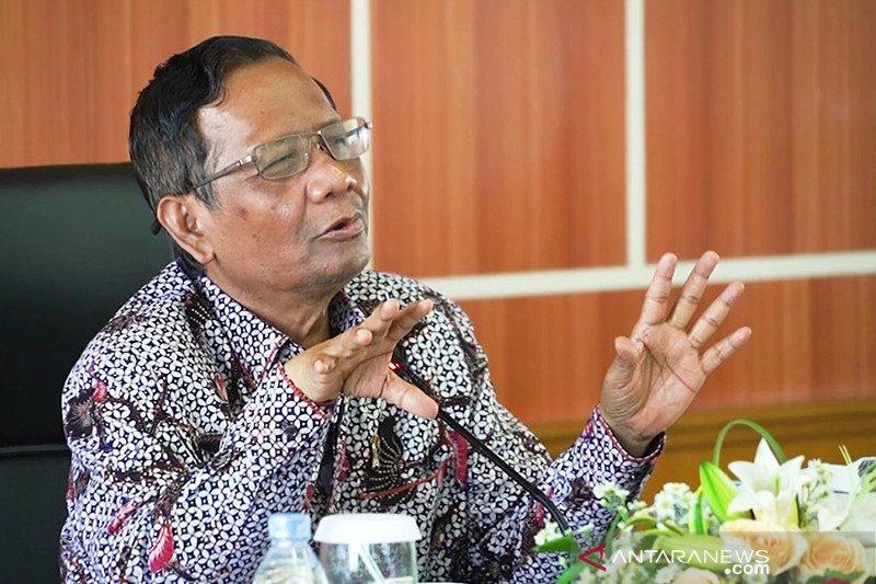 Komentar Mahfud usai KPK OTT Menteri KKP Edhy Prabowo