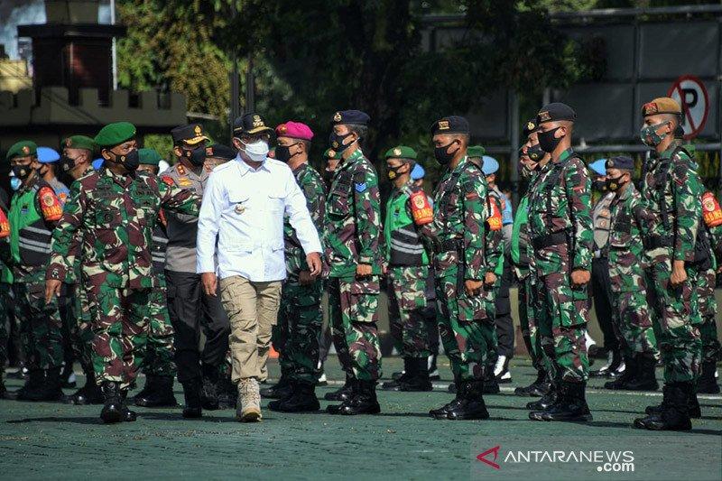 Ridwan Kamil harap TNI-Polri jaga kondusivitas terkait Pilkada