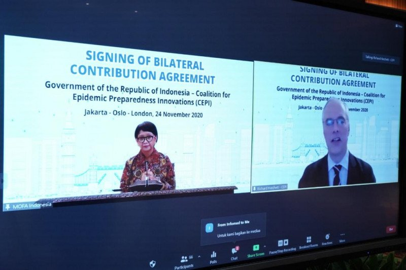 CEPI siap bekerja sama dengan Indonesia untuk lawan pandemi
