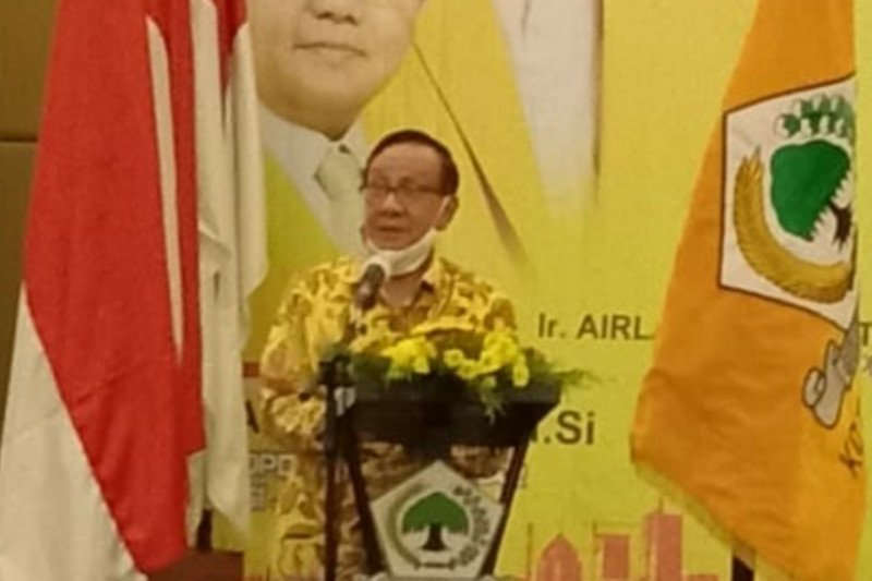 Akbar Tanjung kampanye menangkan Maju di Pilkada Surabaya