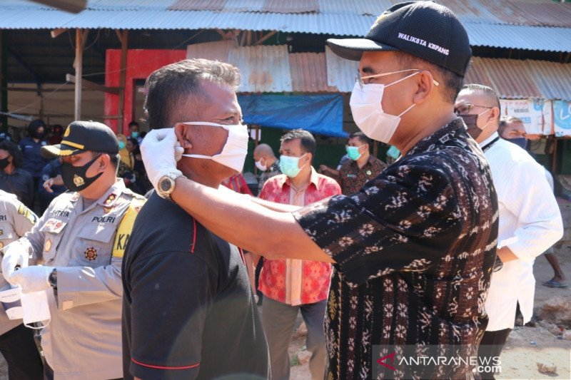 Protokol kesehatan benteng pencegahan COVID-19 di Kota Kupang