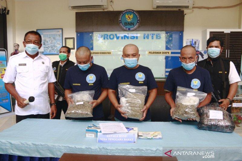 BNNP NTB gagalkan penyelundupan 1,8 kilogram ganja
