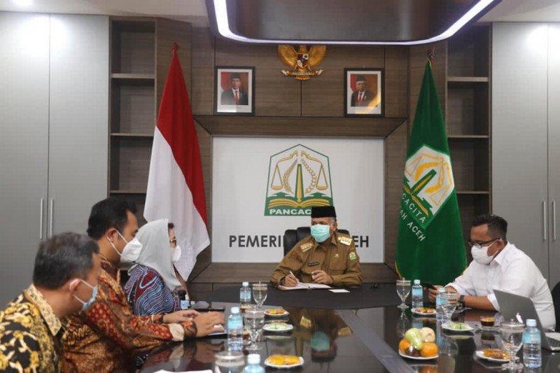 Gubernur Aceh sampaikan perkembangan implementasi MoU Helsinky