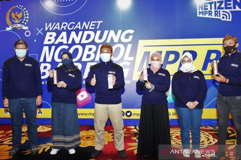 "MPR ajak ""netizen"" sebarluaskan program lembaga"