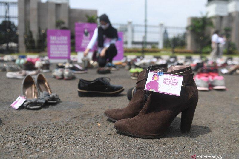 Aksi dukung RUU Penghapusan Kekerasan Seksual