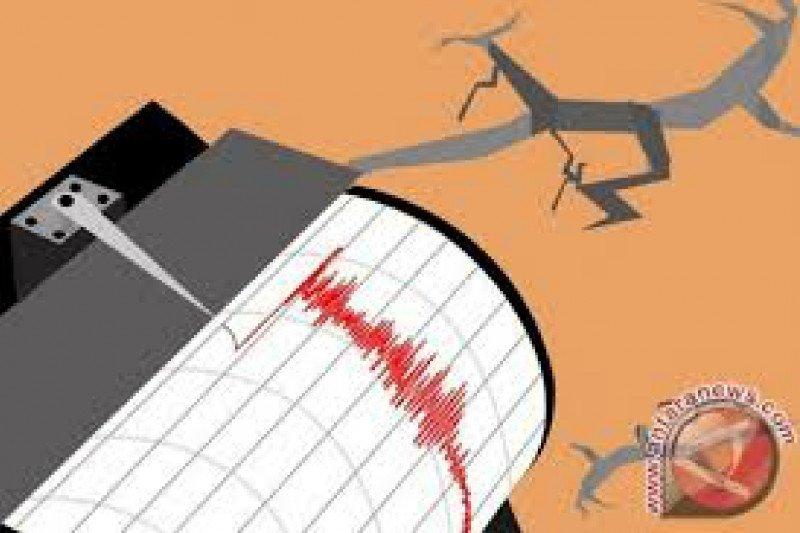 Gempa magnitudo 5,4 di barat laut Halmahera Barat-Malut