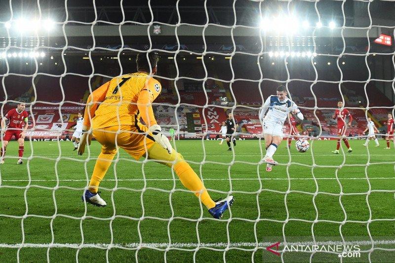 Liverpool dipecundangi Atalanta di Anfield
