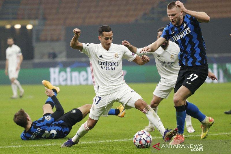 Liga Champions: Real Madrid kalahkan Inter Milan 2-0 di San Siro