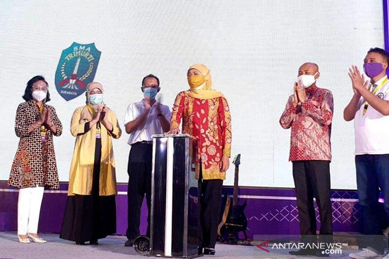 Gubernur Jawa Timur resmikan
