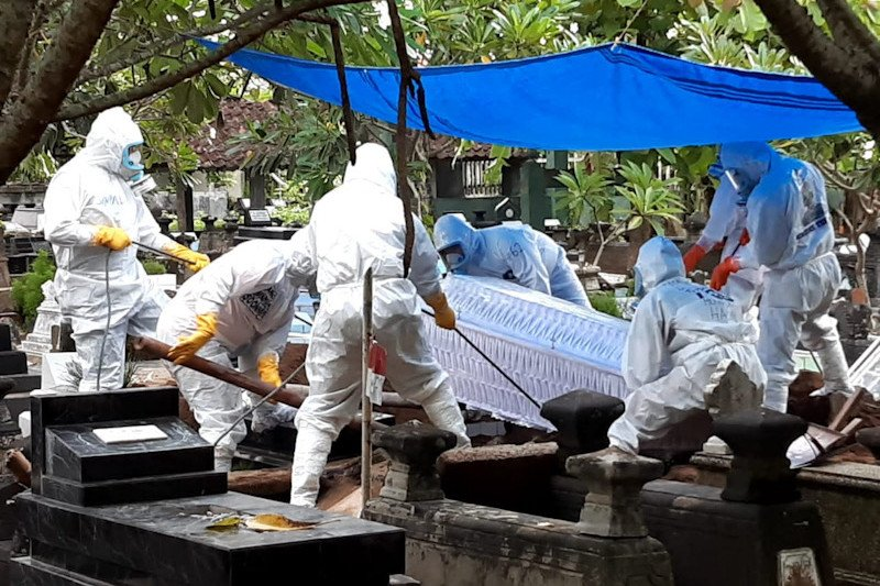 BPBD Yogyakarta kewalahan layani pemakaman prosedur COVID-19