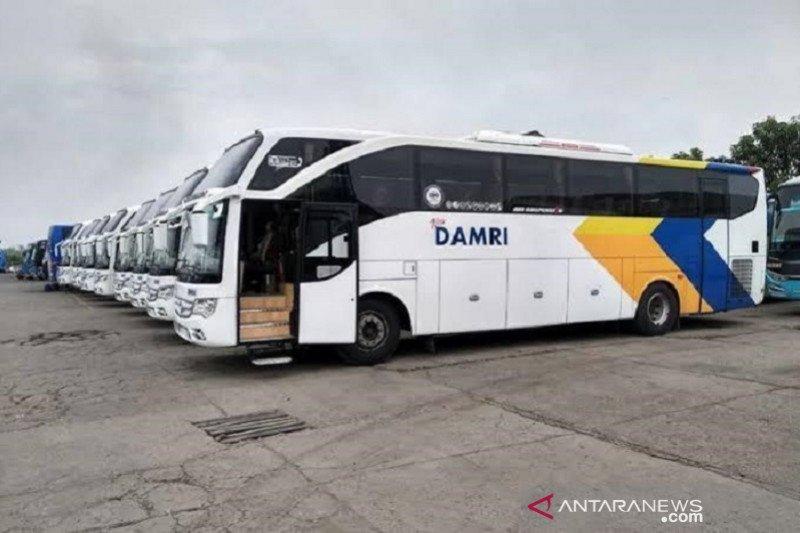 """Jelang libur panjang, DAMRI siapkan ribuan armada """"Bus Sehat"""""""