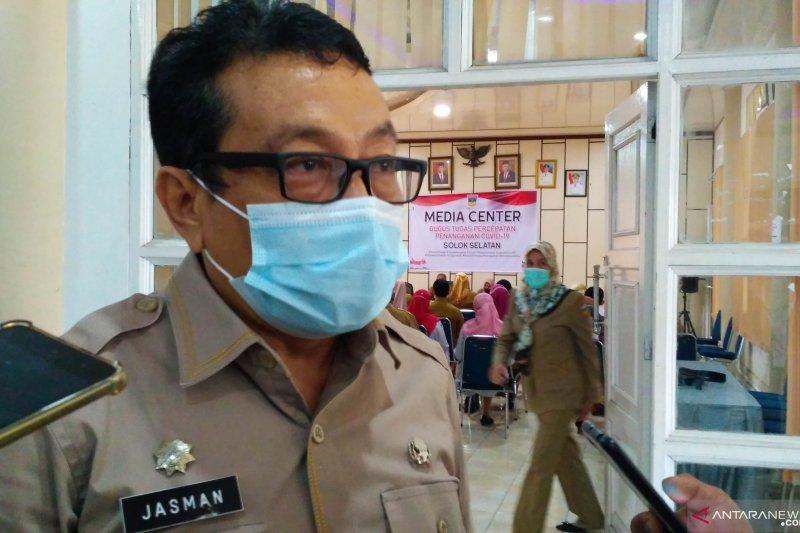Lima penyelenggara pemilu di Solok Selatan positif COVID-19