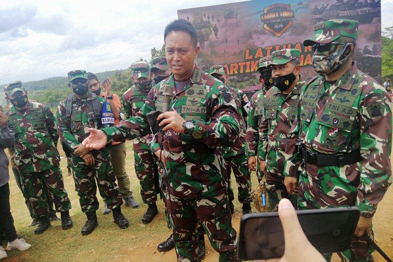 TNI AD bangun Puslatpur di Kalimantan Utara