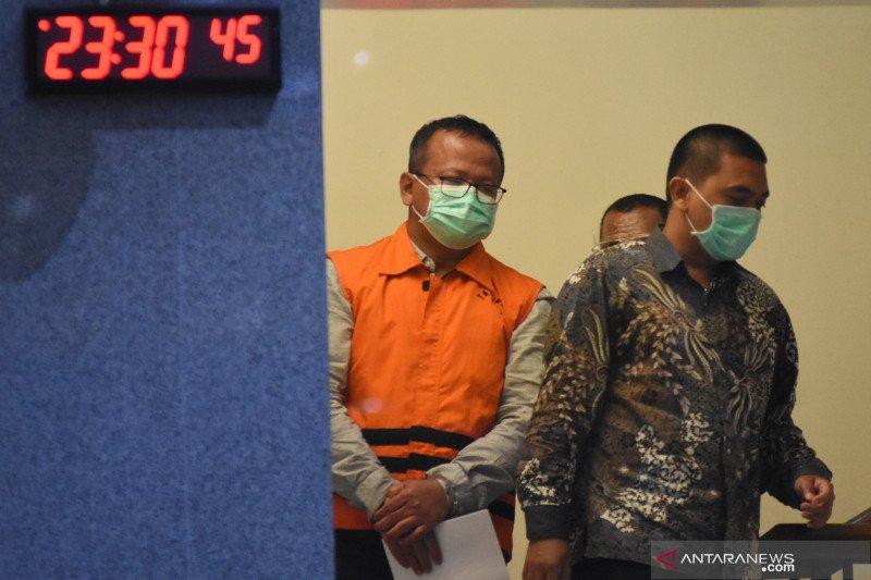 KPK tahan Edhy Prabowo
