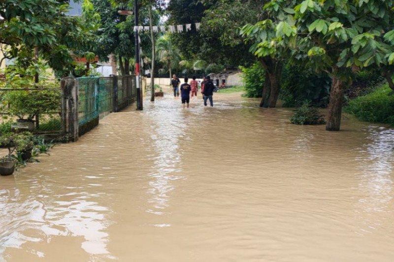 3.122 kepala keluarga di Kota Tebing Tinggi Sumut terdampak banjir