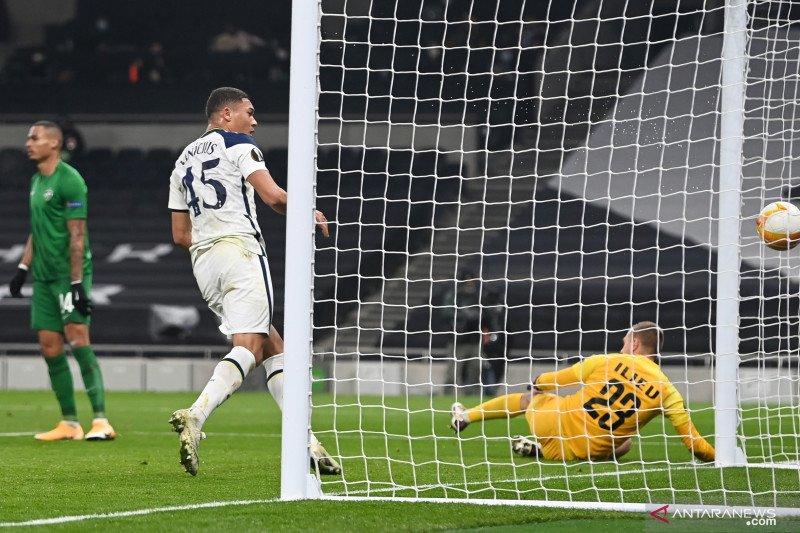 Carlos Vinicius sumbang dwigol antar Tottenham gasak Ludogorets 4-0