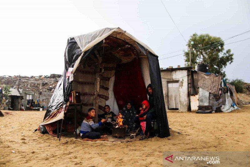 Keseharian warga Palestina di Kota Khan Younis