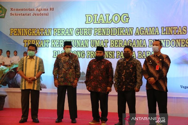 Bicara kerukunan beragama, staf Kemenag Aceh diundang ke Papua Barat