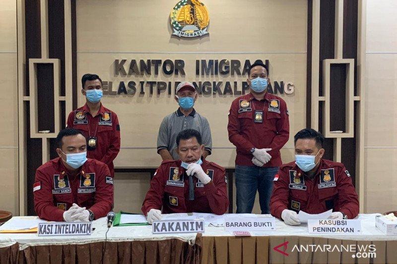Kantor Imigrasi Pangkalpinang deportasi warga Malaysia