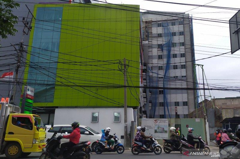 Ada pembangunan di rumah sakit yang diduga dikorupsi Wali Kota Cimahi