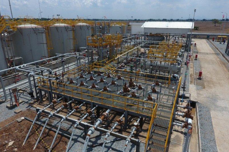 Pertamina EP rampungkan proyek migas SP Bambu Besar dan SKG Betung