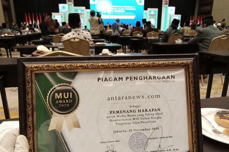 ANTARA raih penghargaan dalam penguatan Islam wasathiyah