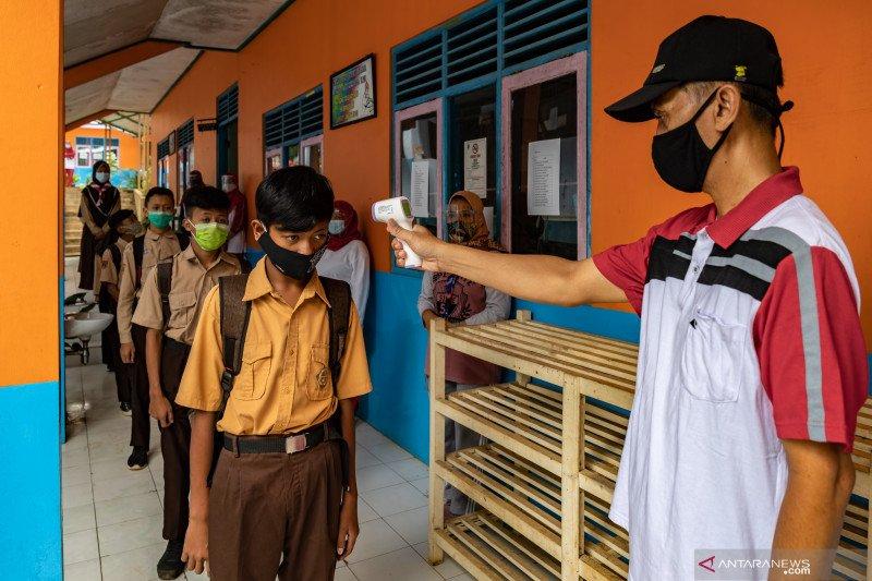 Jateng bakal uji coba pembelajaran tatap muka di 140 sekolah