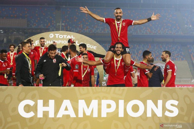 Al Ahly juara Liga Champions Afrika