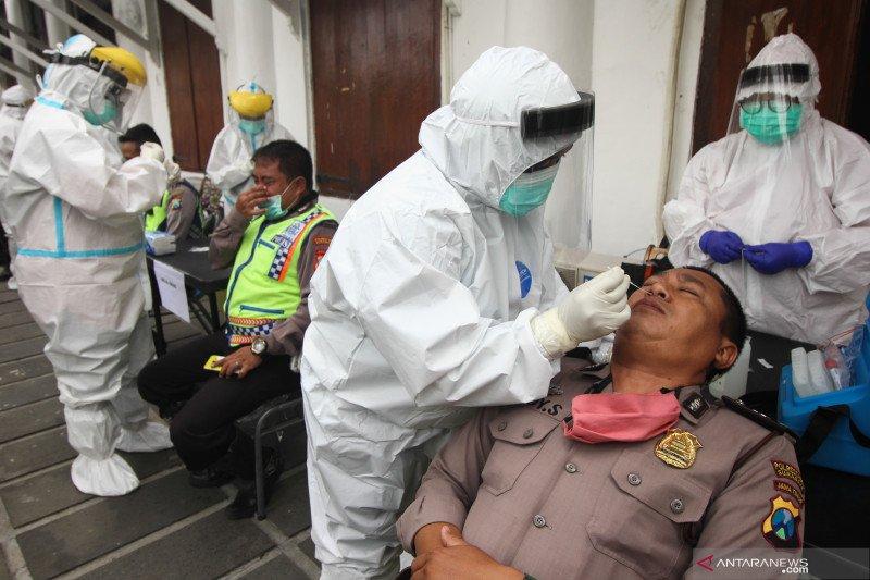 Tes usap personel Pilkada Surabaya