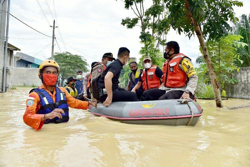 Pemkot Tebing Tinggi Sumut dirikan 56 posko bantu korban banjir