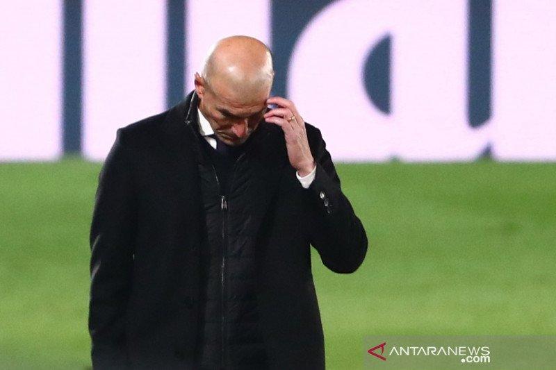 Zidane isolasi diri setelah kontak dengan orang positif COVID-19