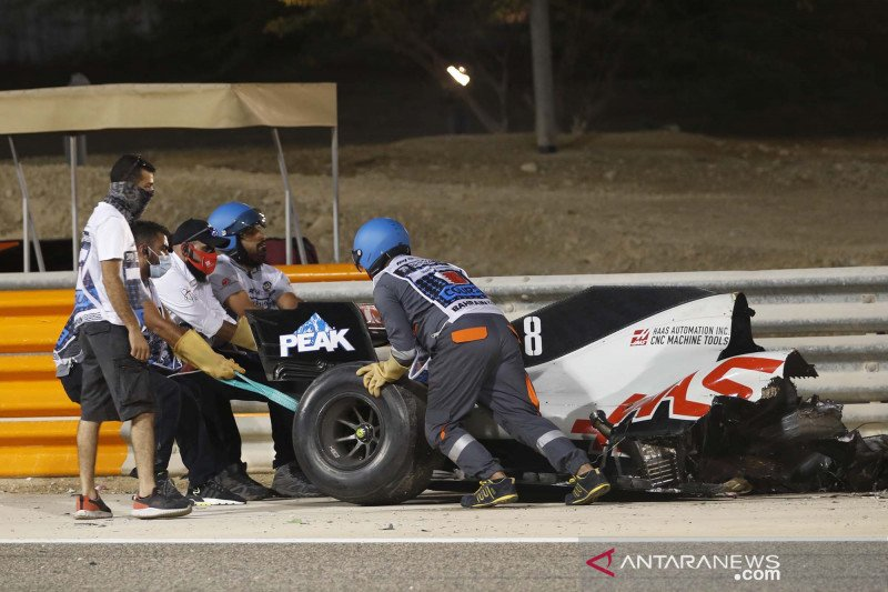 Fittipaldi akan gantikan Grosjean untuk Haas di Grand Prix Sakhir