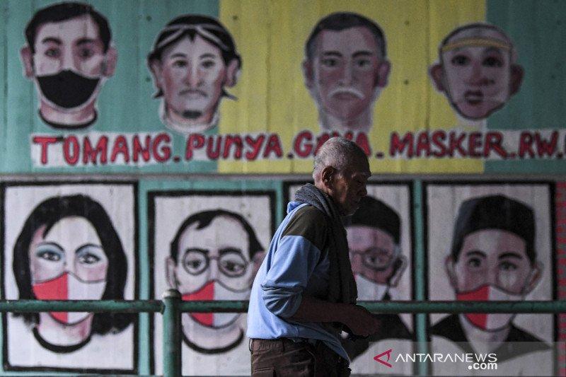 Senin, positif COVID-19 Jakarta 1.099 kasus