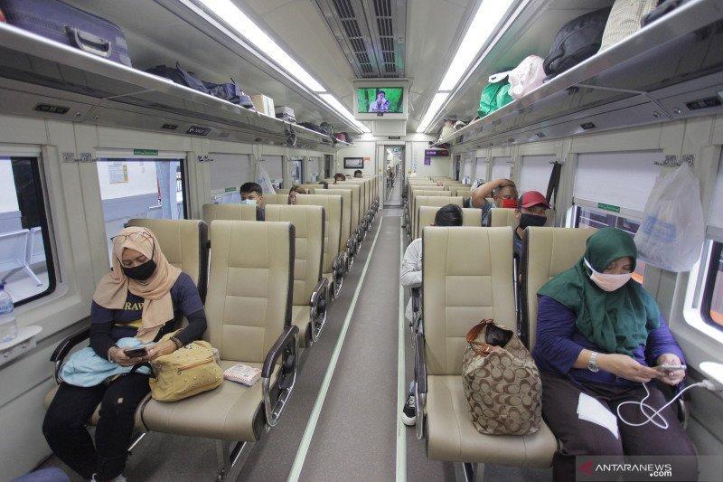 Tiket kereta jarak jauh dari Jakarta untuk H+30 sudah bisa dipesan