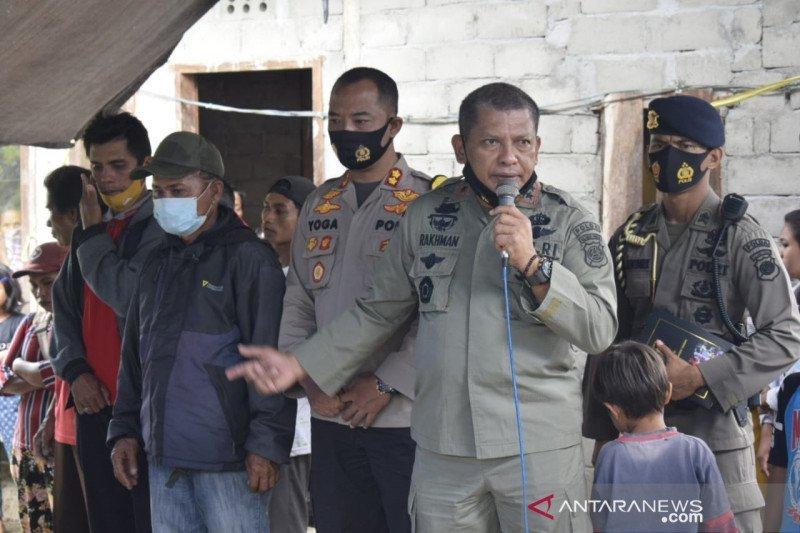 Polda Sulteng dan Polres Sigi trauma healing korban dan pengungsi Sigi