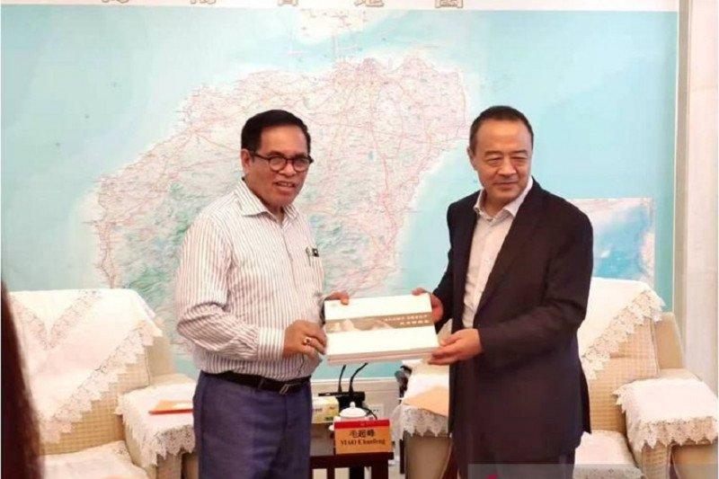 Dubes RI temui Wagub Hainan bicarakan peluang investasi