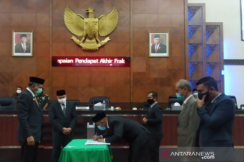 DPRA sepakat APBA 2021 sebesar Rp16,9 triliun