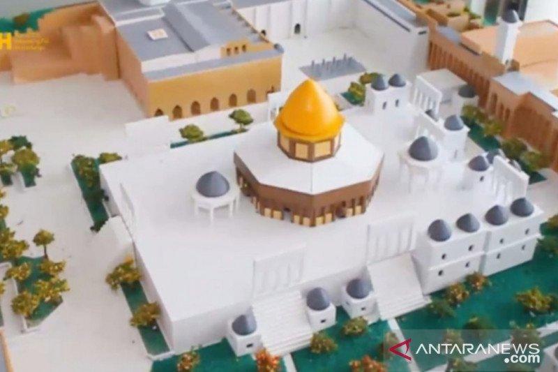 Replika Masjid Al Aqsha Palestina akan dibangun di Sukamakmur Bogor