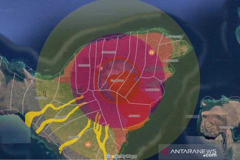BNPB kembangkan aplikasi cek posisi untuk Gunung Ili lewotolok