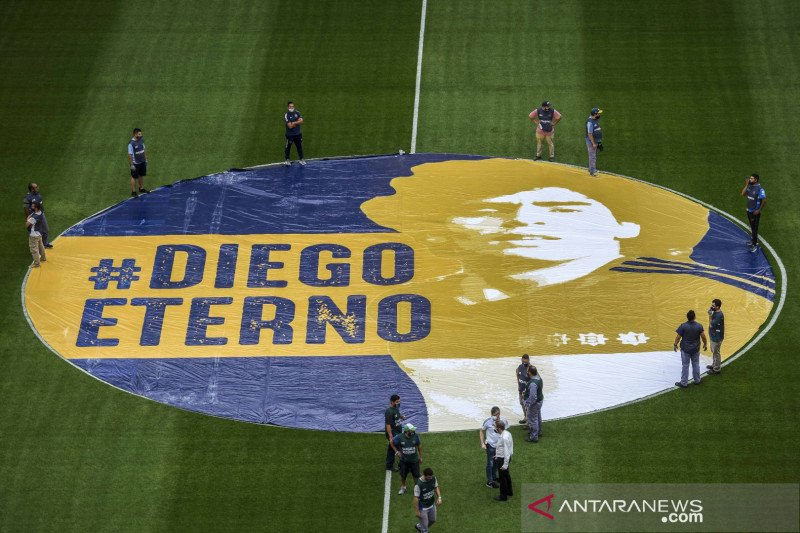"Pengadilan Argentina ingin ""awetkan"" jenazah Diego Maradona"
