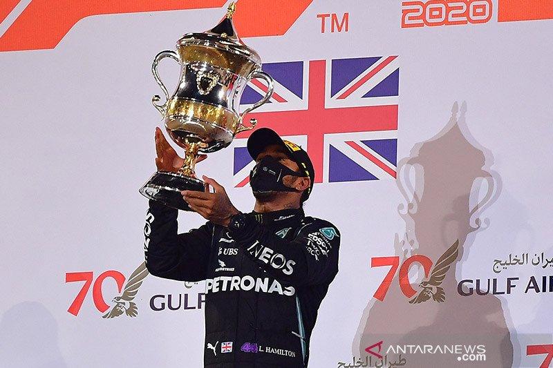 Hamilton bakal dianugerahi gelar ksatria oleh kerajaan Inggris