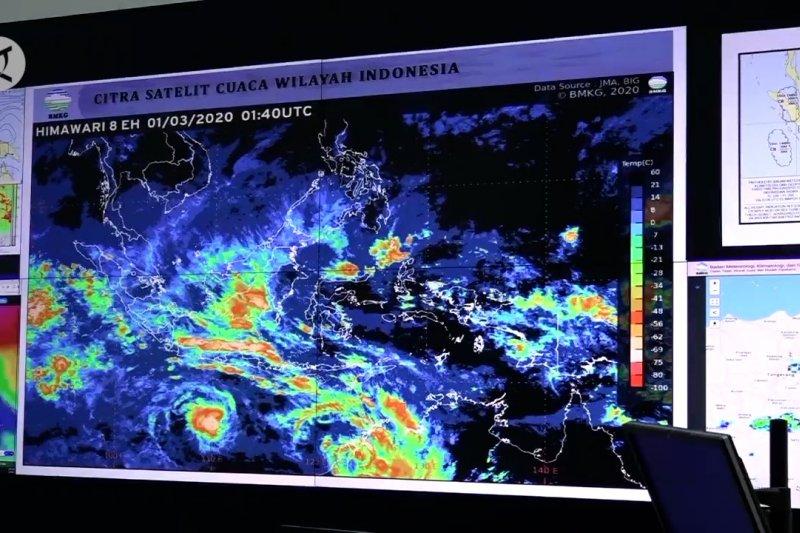 BMKG : Fenomena La Nina sebabkan curah hujan lebih tinggi