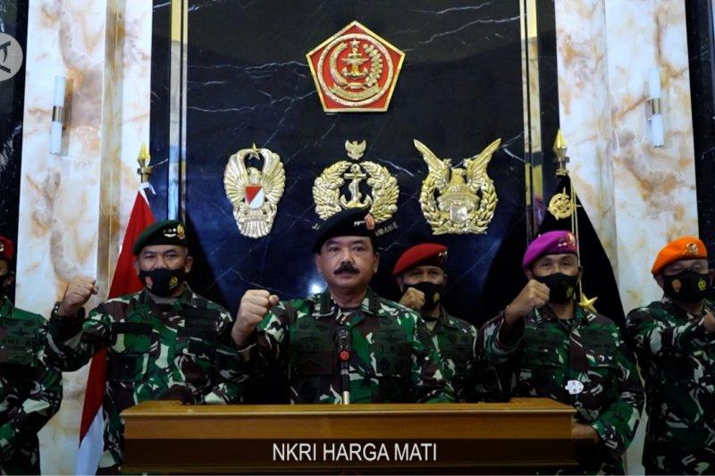 Panglima TNI ingatkan pentingnya persatuan, jangan termakan provokasi