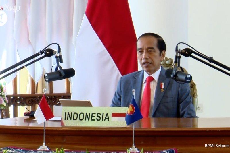 Presiden Jokowi dorong penguatan kemitraan ASEAN-Selandia Baru di Pasifik
