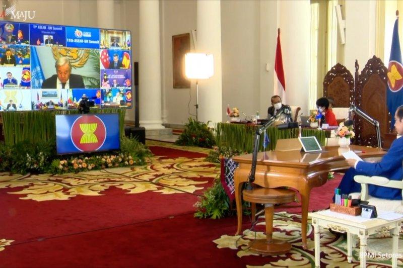 Tutup KTT ASEAN Presiden Jokowi sampaikan 3 poin penting