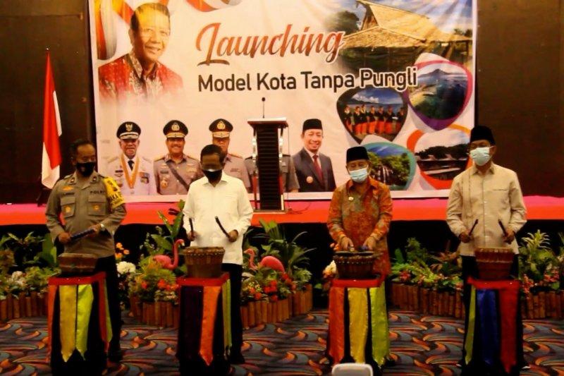 Peluncuran Model Kota Tanpa Pungli untuk Halmahera Barat