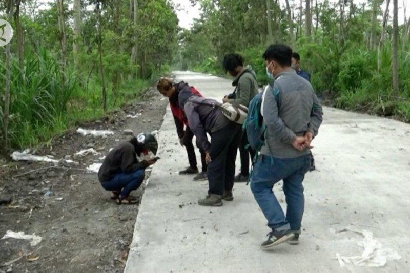 Balai TNGM sebut jejak kaki macan tutul di Merapi terakhir ditemukan 2012