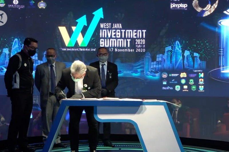 Gubernur sebut Investasi masuk ke Jabar naik enam kali lipat