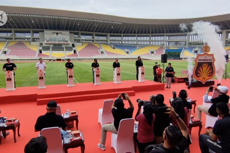 Pindah markas, Bhayangkara Solo FC resmi jadi nama baru